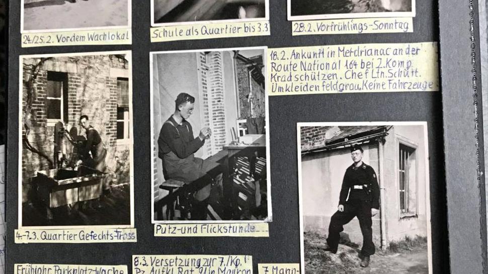 Der junge Soldat schwärmte für Hitler, betrauerte 1945 noch dessen Tod. Den Irrsinn des Krieges habe er erst später erkannt, sagt Scharf.