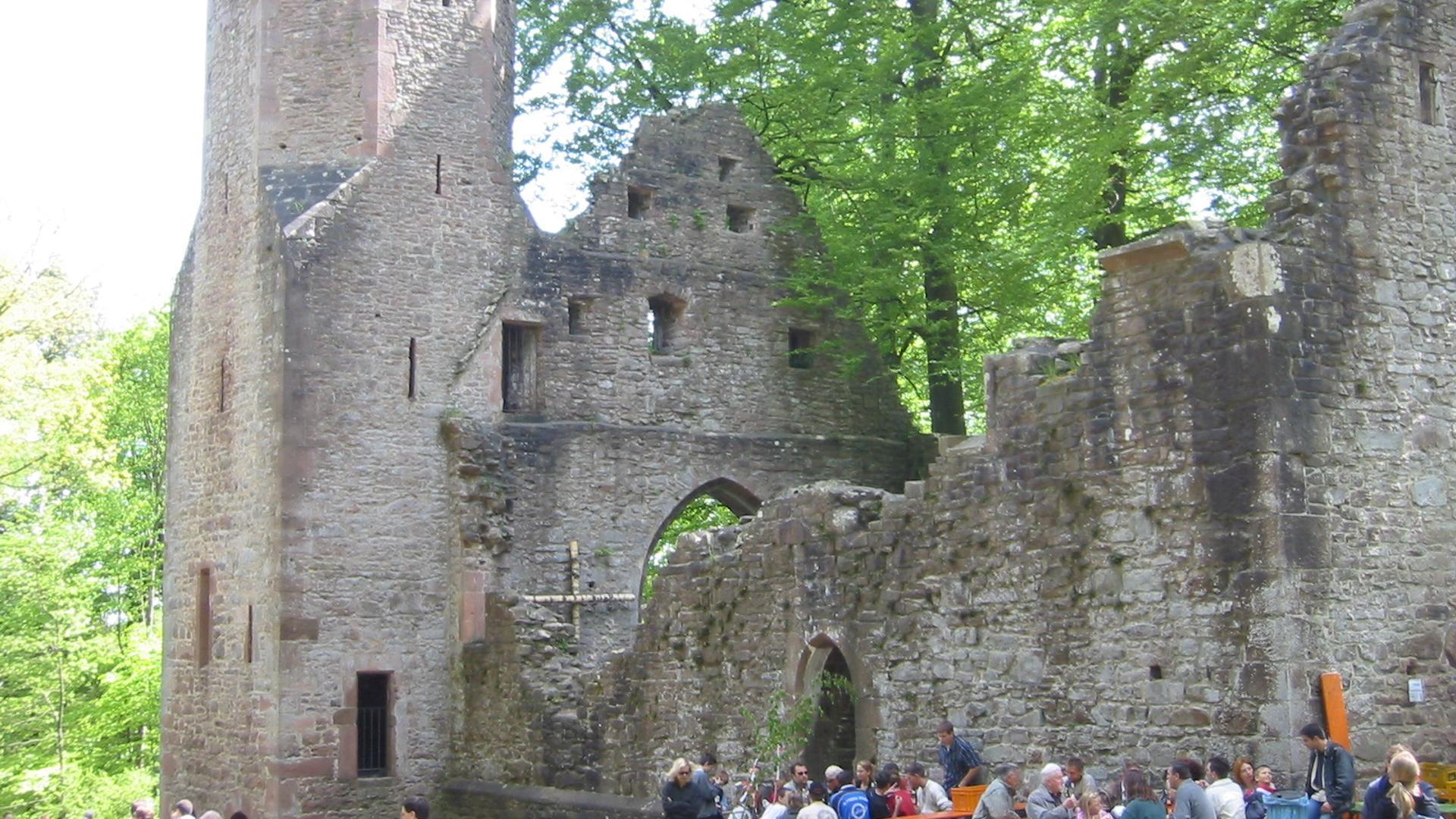 Ruine Kapelle im Wald