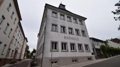 Das Rathaus in Malsch