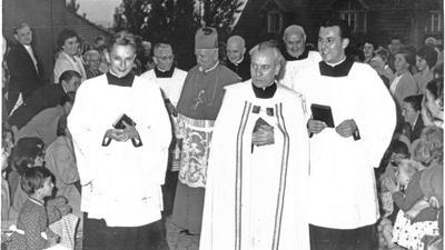 Geistliche in Ende 50er / Anfang 60er Jahre