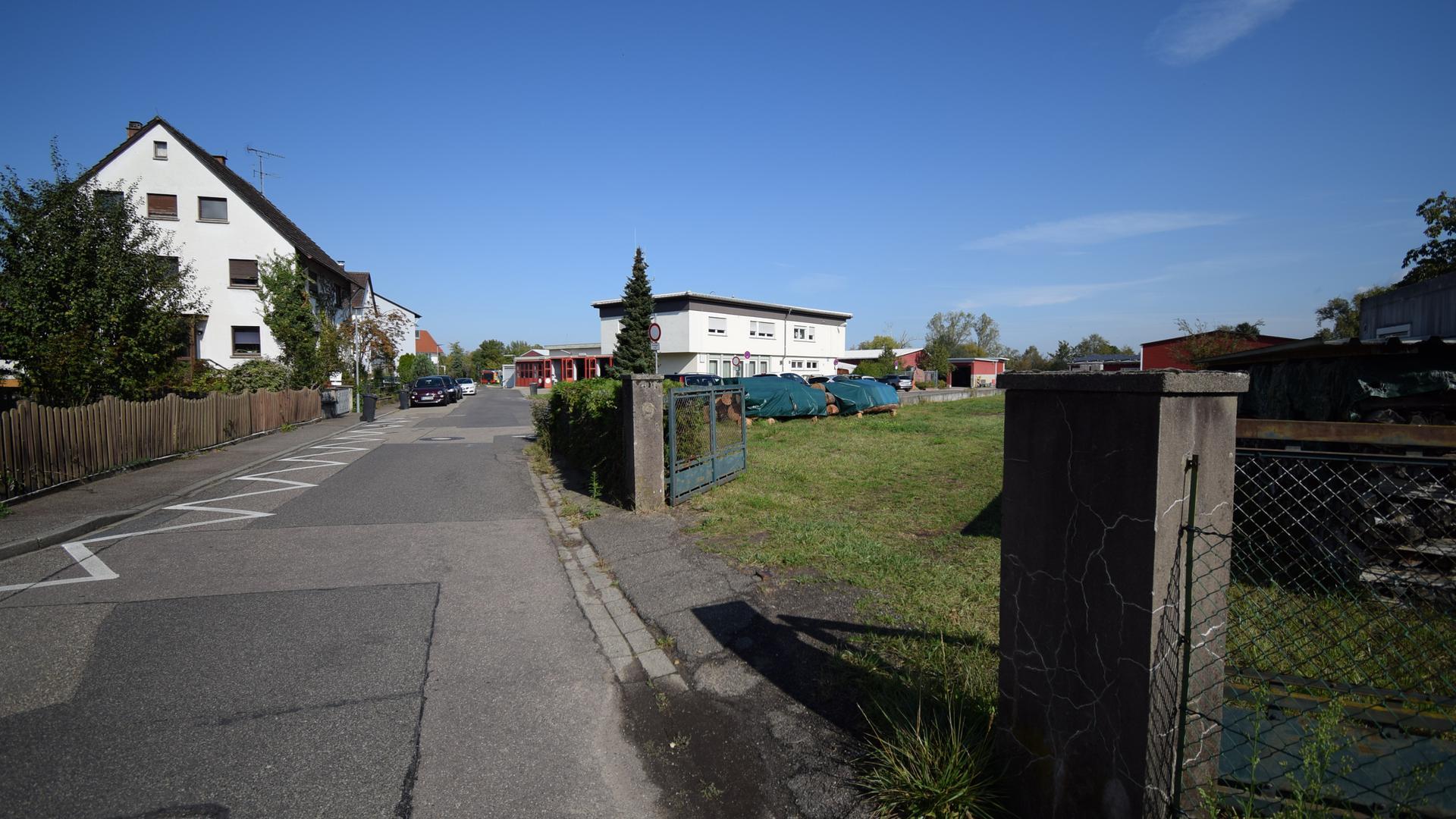 Baugebiet: In der Florianstraße sollen neue Wohnungen entstehen. Anwohner haben Sorge, dass nicht genügend parkplätze zur Verfügung stehen. (Archivbild)