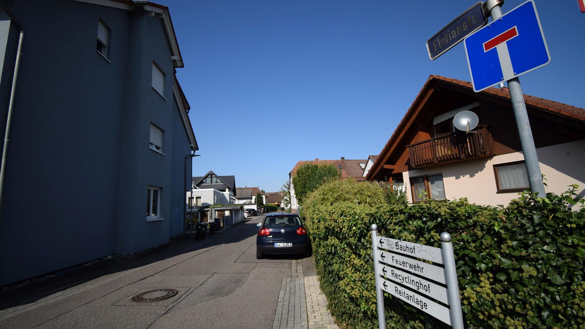 Baugebiet: In der Florianstraße und der angrenzenden Neuwiesenstraße soll auf den vorhandenen freien Flächen Wohnraum geschaffen werden.