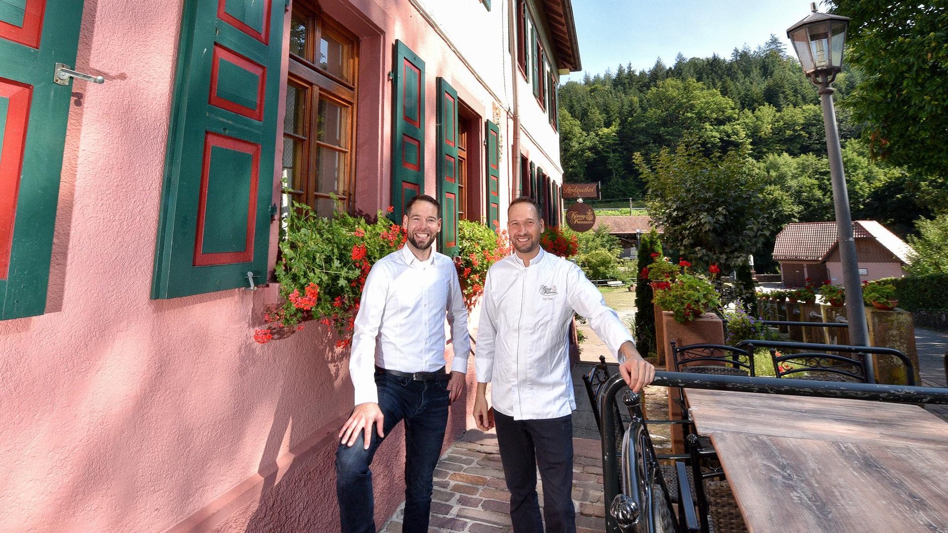 """25.08.2021 Restaurant """"König von Preussen"""" im Albtal / Frauenalb"""