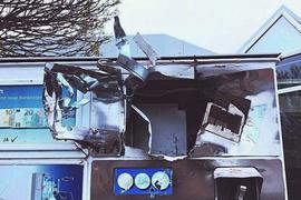 Gleich drei Zigarettenautomaten brach ein Täter in Rheinstettenim Bereich Franz-Joseph-Buss- und Leichtsandstraße auf. Die Polizei sucht jetzt Zeugen.