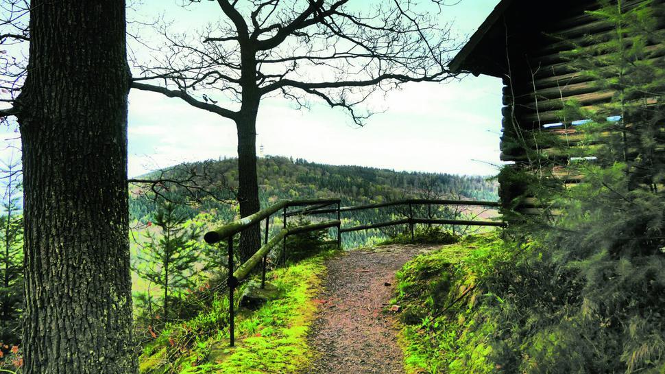 Schöne Aussichten: Panoramablicke bietet die Strecke zwischen Baden-Baden und Neuweier.