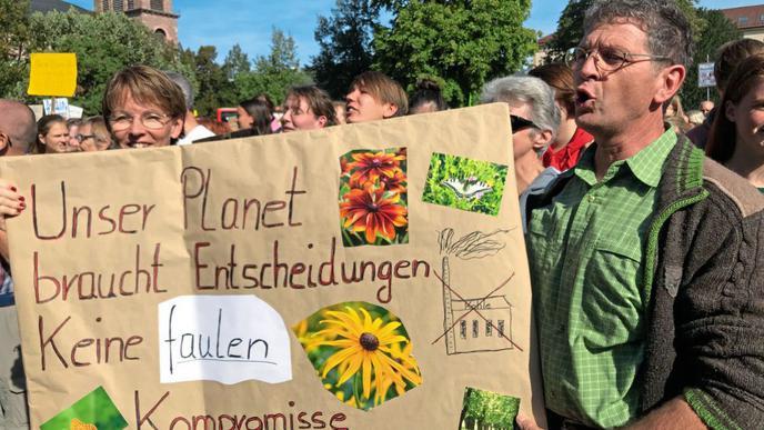 Dieses Mal beteiligen sich nicht nur Schüler am Klimastreik, sondern auch viele Erwachsene.