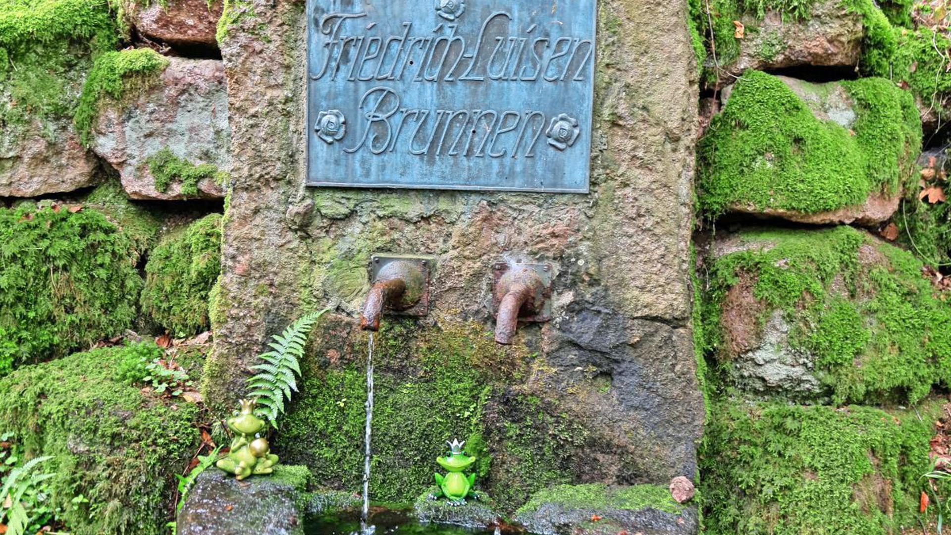 An der Murgleiter: der Friedrich-Luisen-Brunnen. Foto: Ralf/stock-adobe.com