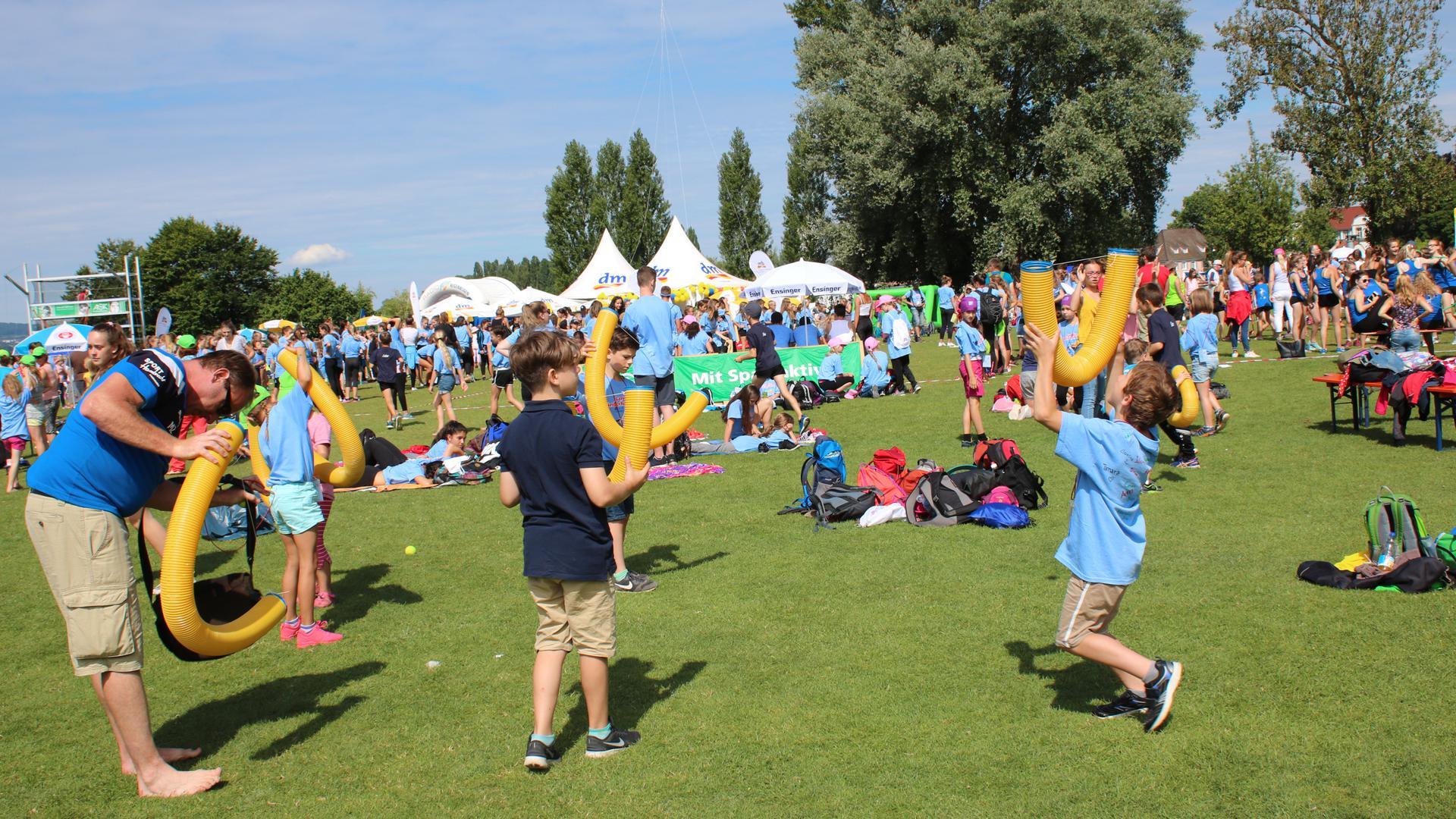 Landeskinderturnfest von der Badischen Turnerjugend