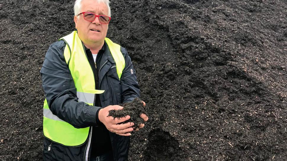 Franz Vogel, Komposthändler aus Bühl, gilt als vermeintlicher Verursacher des PFC-Skandals in Mittelbaden.