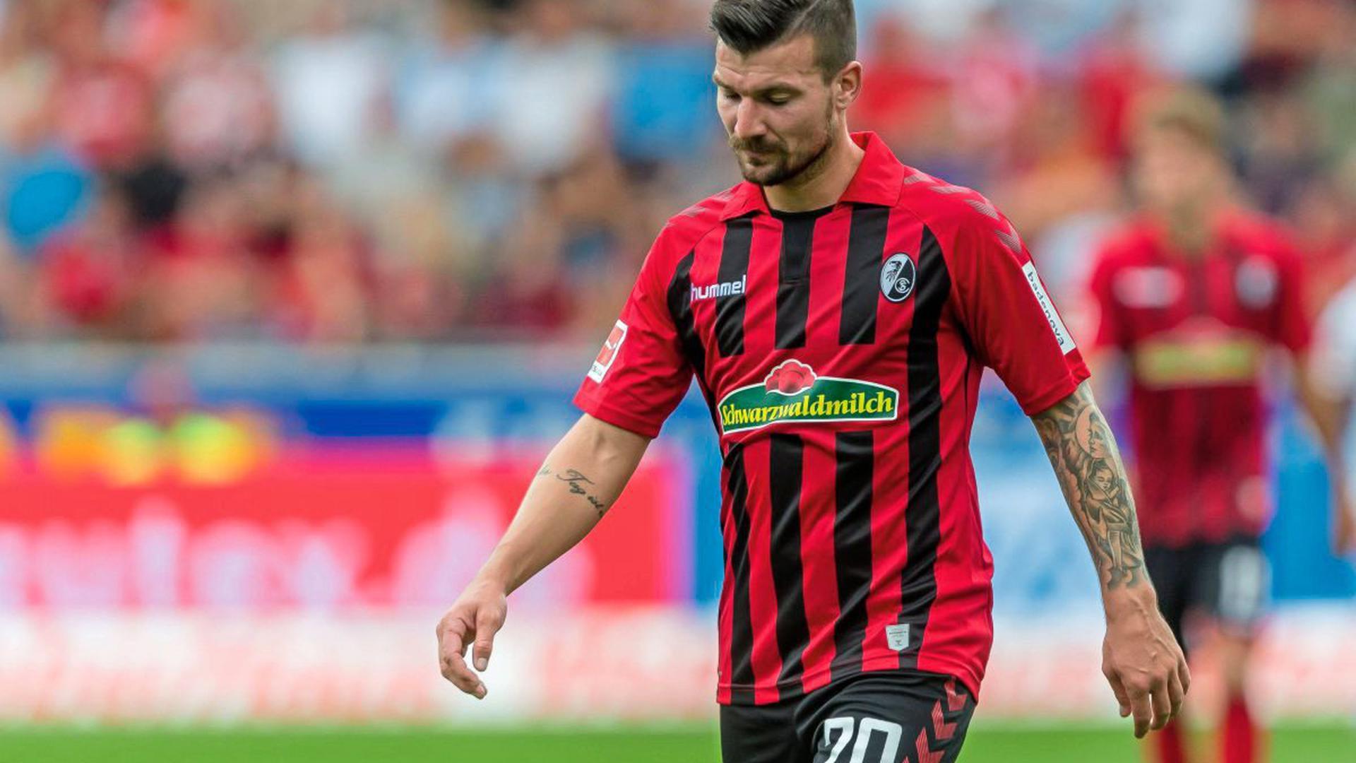 Medien hatten gemunkelt, der KSC könnte Interesse an Jérôme Gondorf haben.