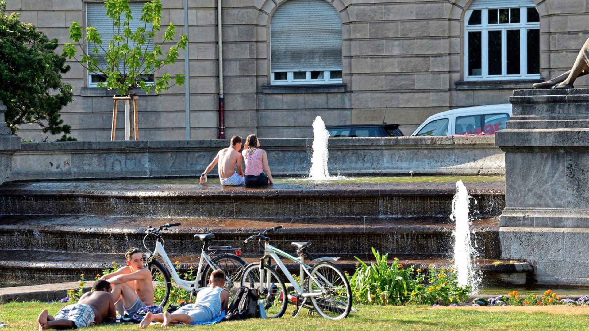 Wunderbare Fotos entstehen in der Weststadt auf dem Haydnplatz, der sich im Herzen des Musikerviertels befindet.