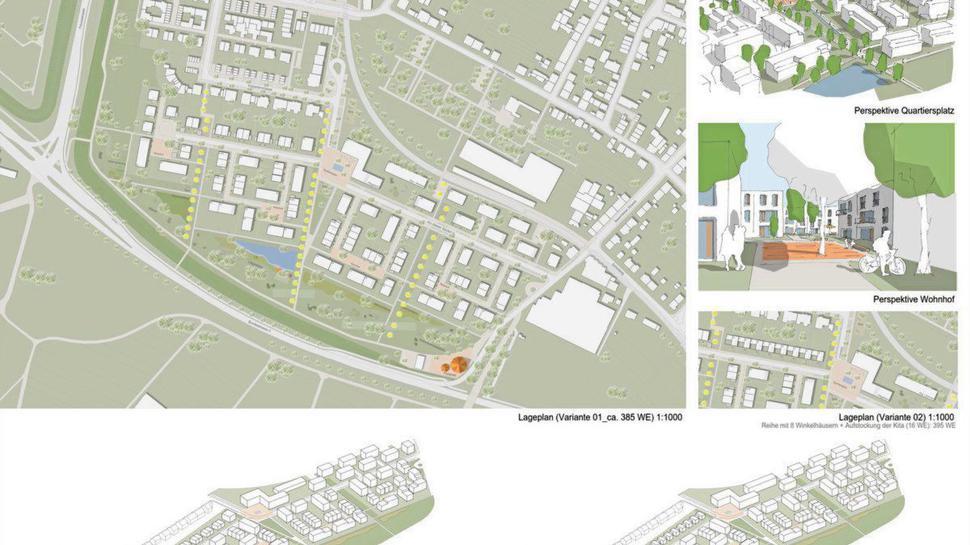 Rahmenplan für das Neubaugebiet Oberer Säuterich