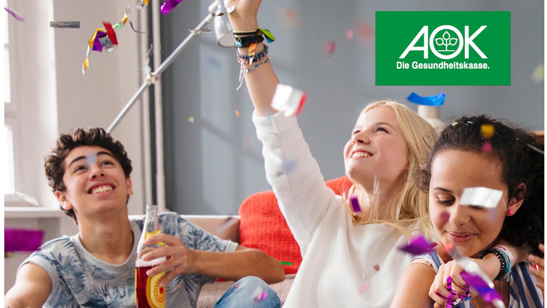 Bereits für die Jüngsten setzt sich die AOK im ganzen Land für die Gesundheit ein.
