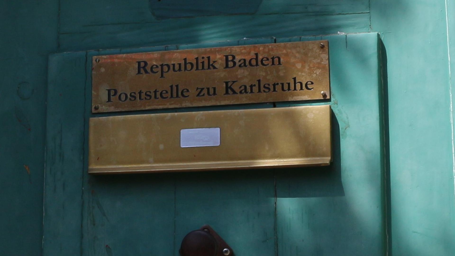 Die Polizei durchsucht auch ein Haus in der Karlsruher Roggenbachstraße.