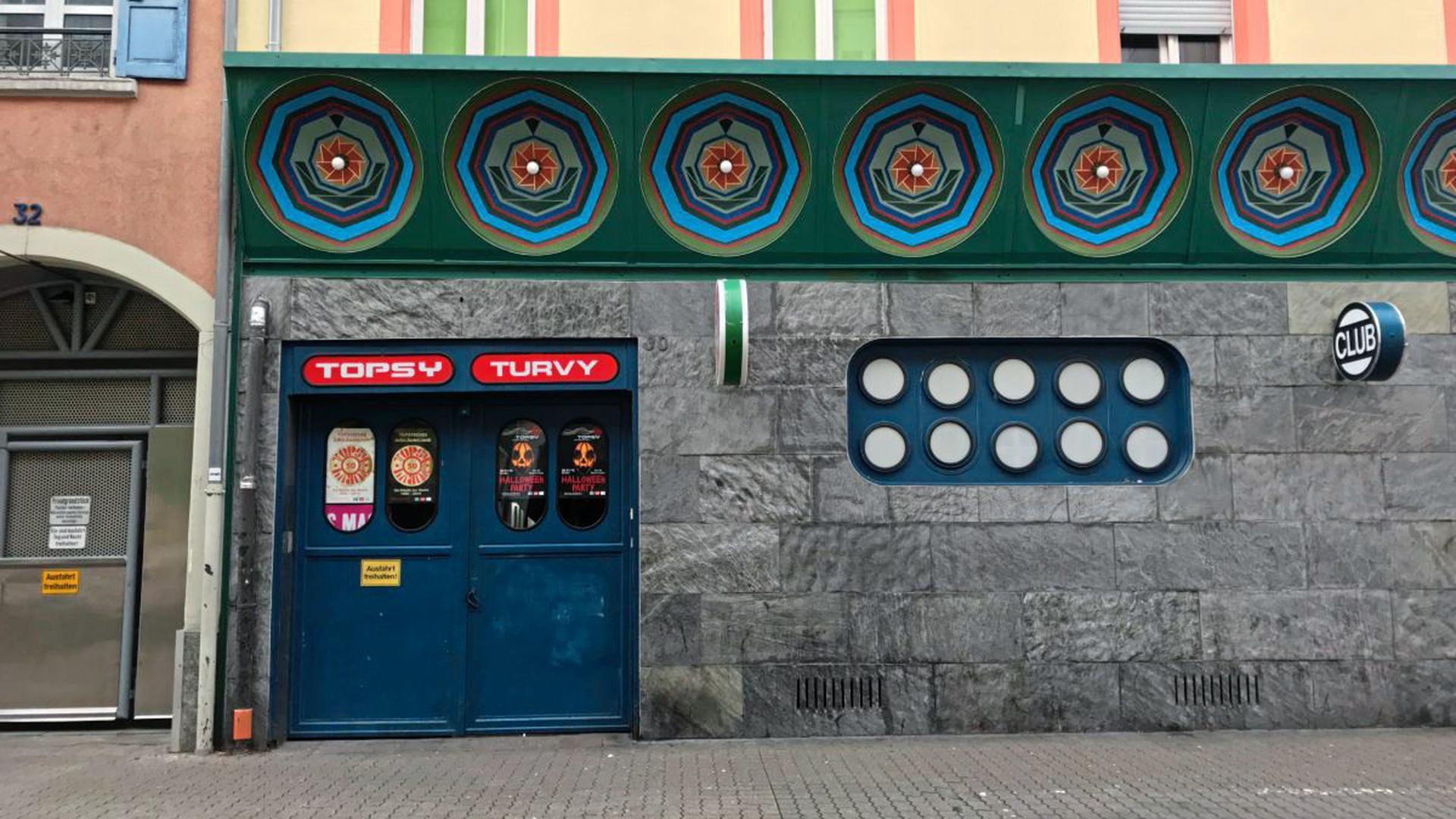 """Viele offene Fragen um eine Veranstaltung am 2. Juli: Das """"Topsy Turvy"""" in Karlsruhe beschäftigt die Stadt Karlsruhe wegen eines Corona-Ausbruchs."""