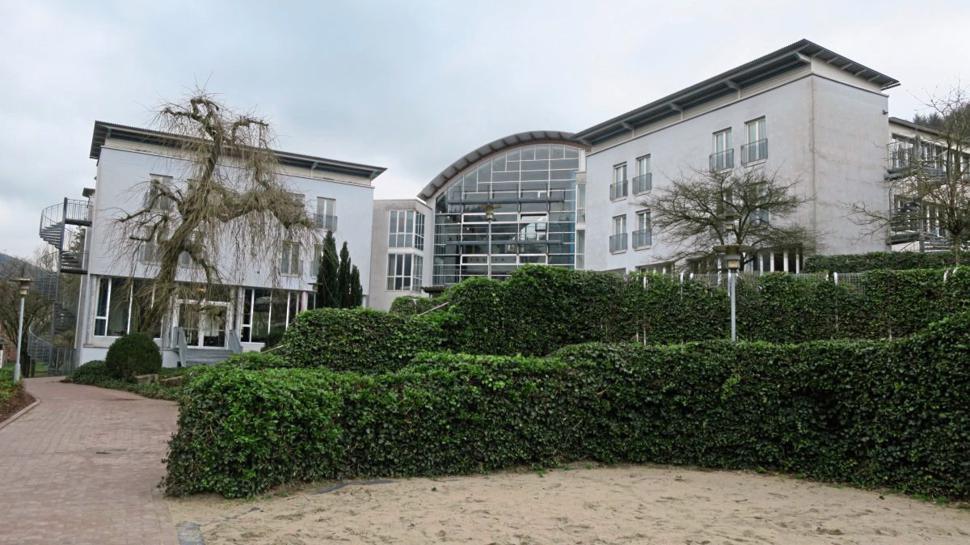 Das heutige Internat in Neckargemünd ist ein modernes Gebäude aus dem Jahr 1991.
