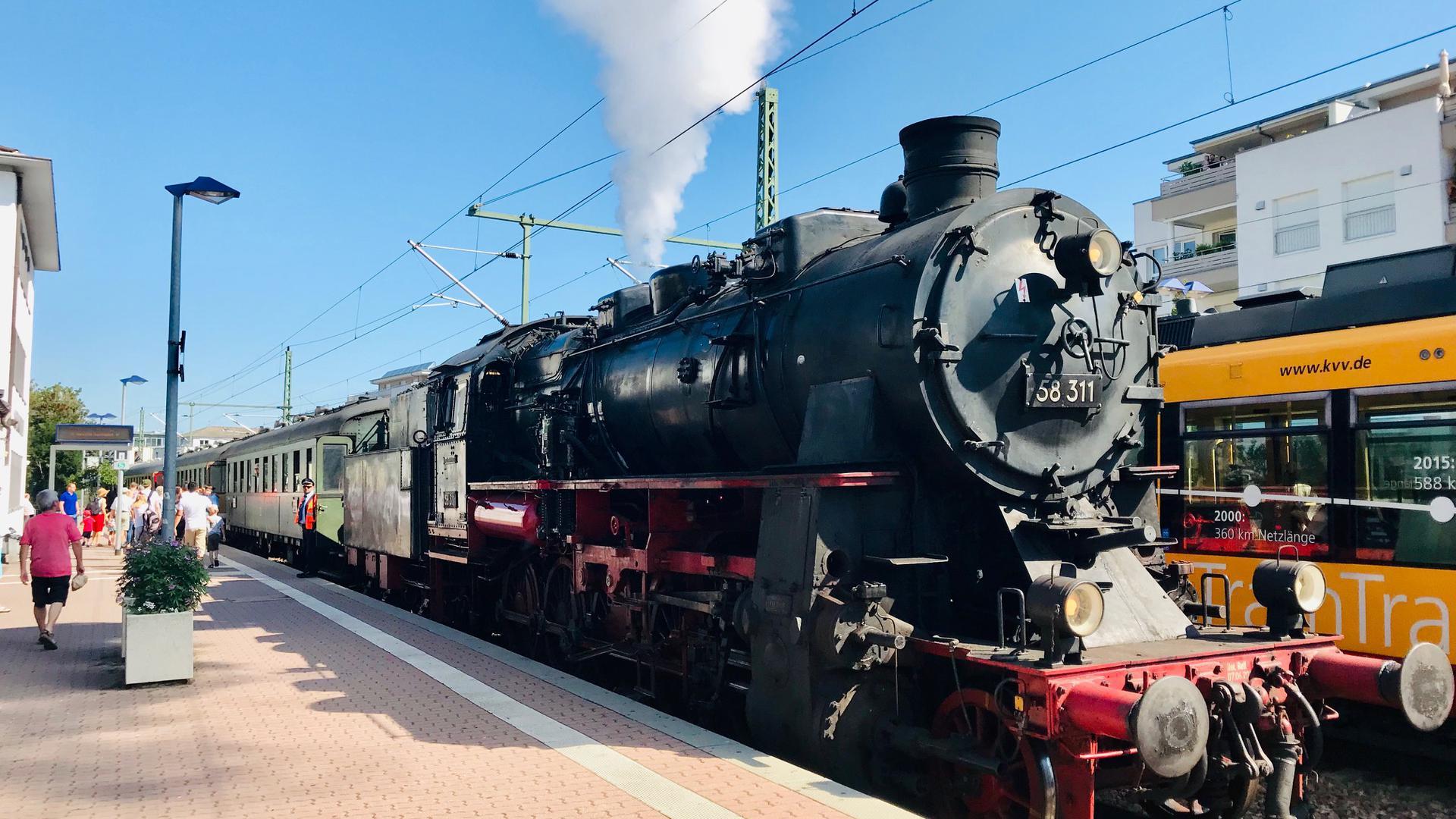Dampflok Karlsruhe