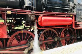 Eine Rarität: Die Dampflok 58311 der Dampfnostalgie Karlsruhe. Mit einem historischen Eilzug startet die fast 100 Jahre alte Güterzuglok am 1. Mai in die neue Saison.