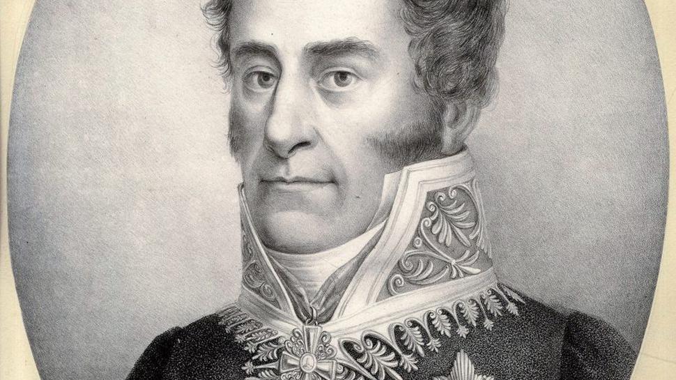 Gesandter des Großherzogs Ludwigs I. in Karlsbad: Wilhelm Ludwig von Berstett.