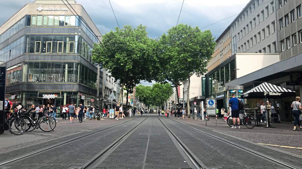 Karlsruhe Shopping Geschäfte