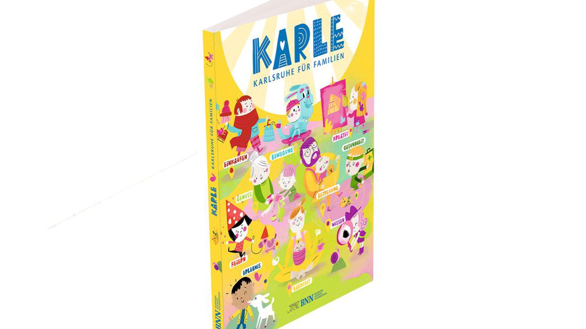 """""""Karle – Karlsruhe für Familien"""" – ist der neue, serviceorientierte Familien-Guide der Badischen Neuesten Nachrichten."""