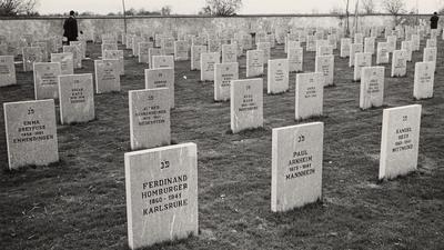 Auf dem Deportierenfriedhof in Gurs wurden die Opfer der Nazis begraben.