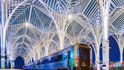 Bahnhof Lissabon Estação do Oriente