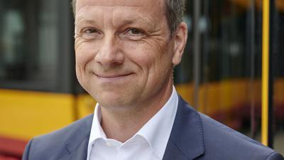 Karriere: Ascan Egerer, Technischer Geschäftsführer der VBK, soll Beigeordneter für Mobilität in Köln werden.
