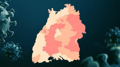 In welchen Landkreisen ist die Corona-Lage kritisch? Unsere interaktive Grafik zeigt es.
