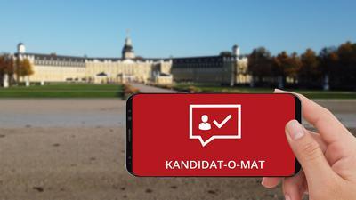 """Welcher OB-Kandidat passt zu mir? Mit dem """"Kandidat-O-Mat"""" können sich Karlsruher jetzt einen schnellen Überblick über die Positionen verschaffen."""