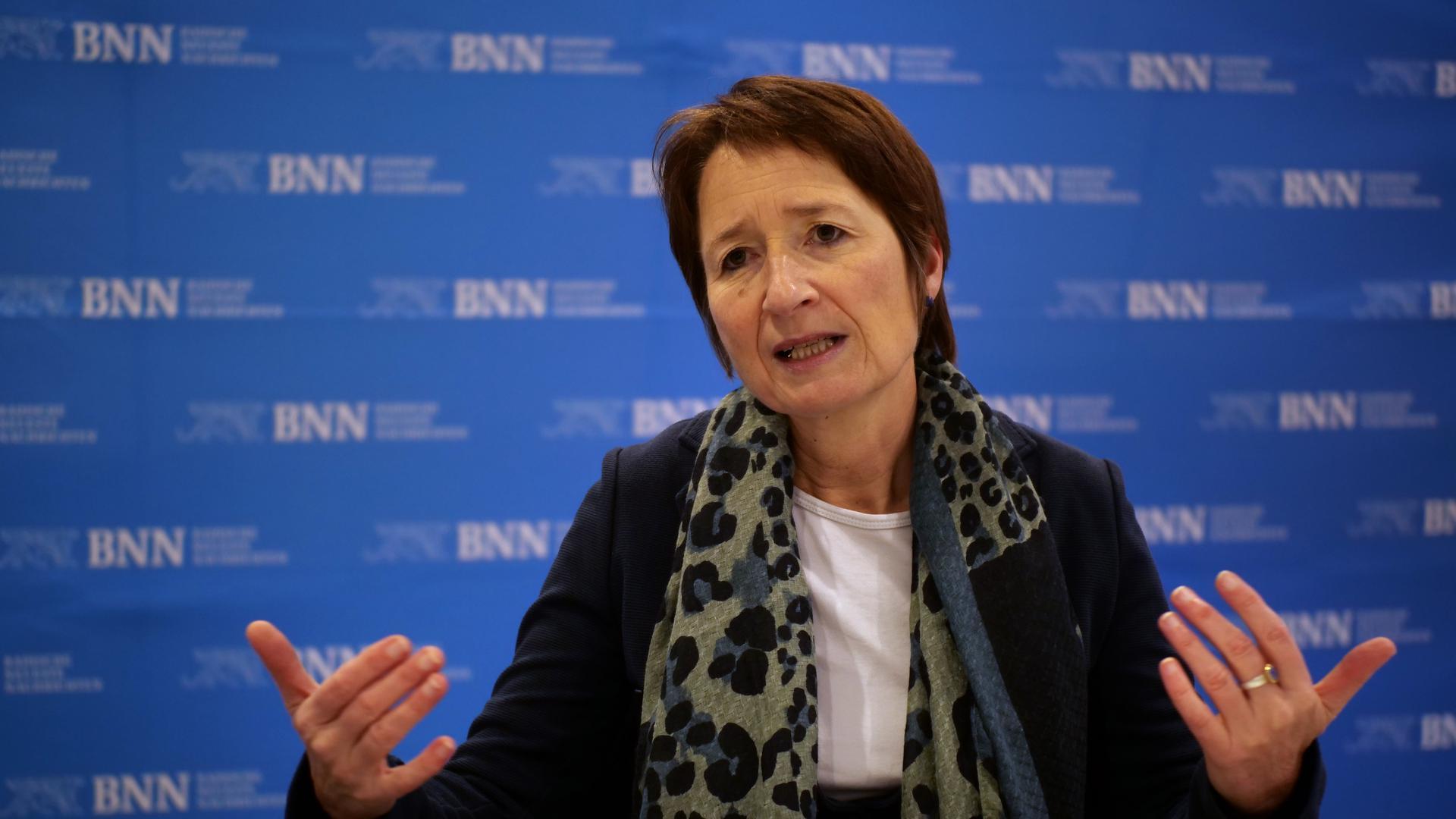 Bettina Lisbach im Interview mit den BNN