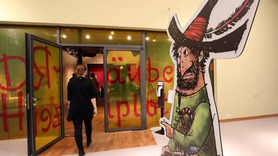 """Nur mit Anmeldung: Am Dienstag, 16. März, kann die Familienausstellung """"Der Räuber Hotzenplotz"""" im Badischen Landesmuseum wieder besucht werden. Auch andere Museen wollen in den kommenden Tagen wieder öffnen."""