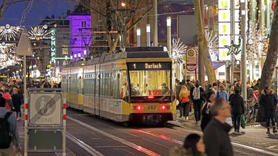 Freie Fahrt: An den vier Samstagen im Advent 2019 konnten die Bürger Busse und Bahnen kostenlos nutzen.