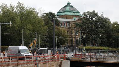 Möglicher Standort: Das Forum Recht wird voraussichtlich auf dem Gelände des Bundesgerichtshofs angesiedelt. Nach Prüfung von Alternativen billigte das die Mehrheit des Gemeinderats.