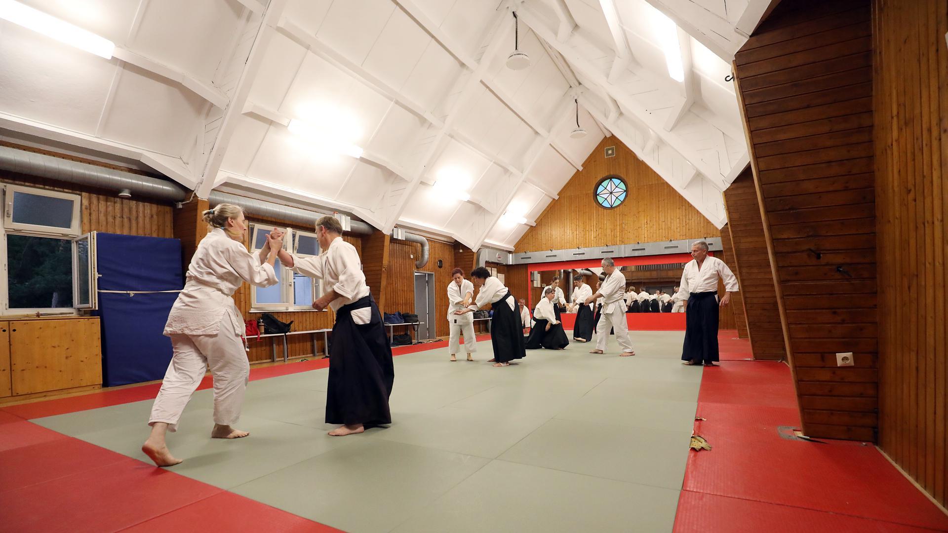 Kampfkunst im Kirchenschiff: In einer früheren Kapelle ist der Budo-Club untergekommen.