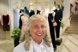 Außergewöhnliche Persönlichkeit: Melitta Büchner-Schöpf brachte sich auf vielerlei Weise ins öffentliche Leben der Fächerstadt ein.