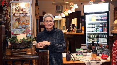 Will nicht alle Mitarbeiter heimschicken: Denise Bender bieten in ihrem Lokal Gutenberg einen Abhol- und Lieferservice. Sie beobachtet, dass dieses Geschäft jetzt zäher verläuft als im ersten Lockdown.