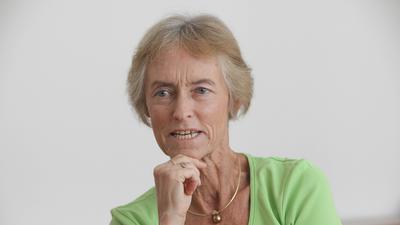 26.09.2011 Liesel Hermes, 1945 - 2021, von 2002 bis 2011 Rektorin der Pädagogischen Hochschule (PH) Karlsruhe