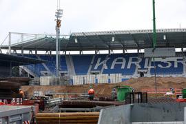 © Jodo-Foto /  Joerg  Donecker// 8.07.2021 KSC-Stadion-Baustelle,                                                                -Copyright - Jodo-Foto /  Joerg  Donecker Sonnenbergstr.4  D-76228 KARLSRUHE TEL:  0049 (0) 721-9473285 FAX:  0049 (0) 721 4903368  Mobil: 0049 (0) 172 7238737 E-Mail:  joerg.donecker@t-online.de Sparkasse Karlsruhe  IBAN: DE12 6605 0101 0010 0395 50, BIC: KARSDE66XX Steuernummer 34140/28360 Veroeffentlichung nur gegen Honorar nach MFM zzgl. ges. Mwst.  , Belegexemplar und Namensnennung. Es gelten meine AGB.