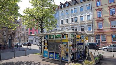 Fixpunkt im Quartier: Kioske wie der nahe dem Karl-Wilhelm-Platz in der Oststadt dienen der Versorgung und der Kommunikation.