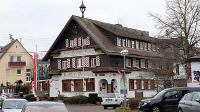 Die Türen sind zu: Kofflers Heuriger in Rüppurr hat geschlossen, der Pächter Insolvenz angemeldet.