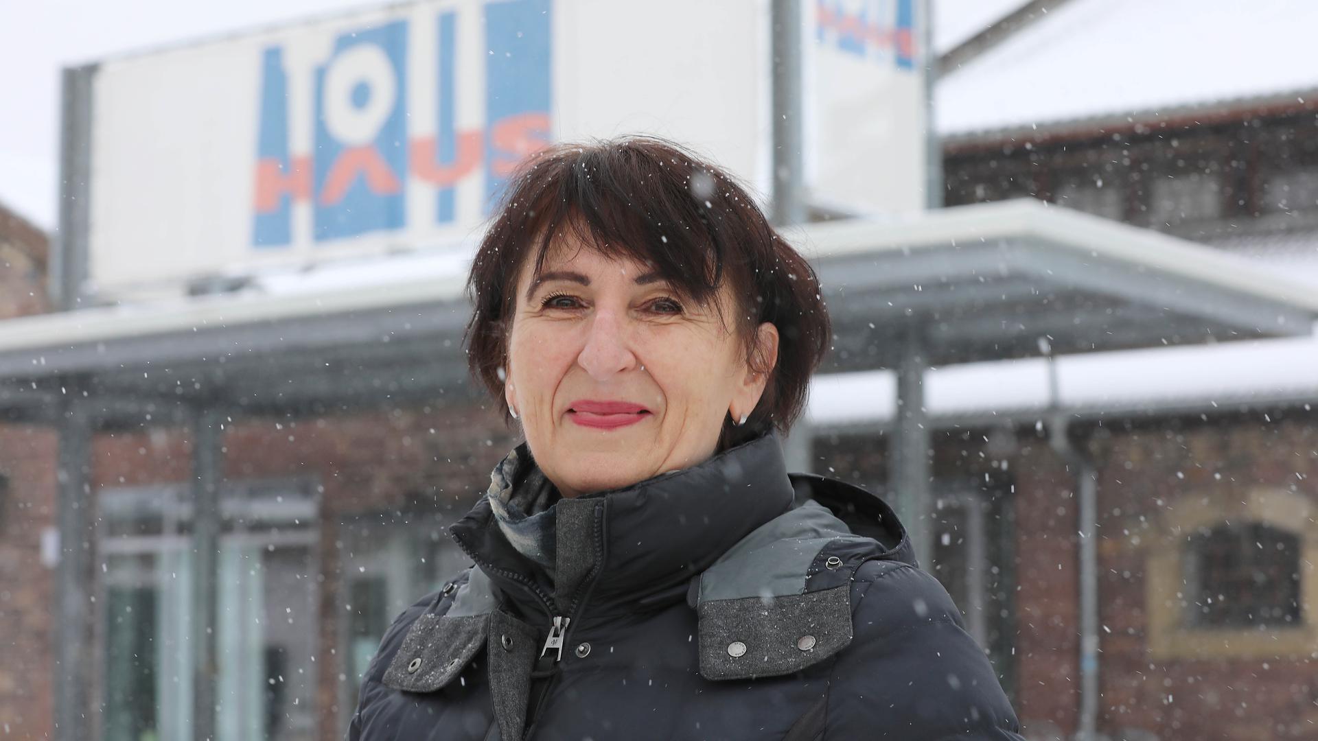 Kulturfreundin: Ute Leidig, die für die Grünen im Wahlkreis Ost antritt, ist Expertin für Kommunales. In ihrer Freizeit genießt sie die Kunst.
