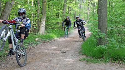 Nicht alle Mountainbiker fahren auf legalen Wegen.