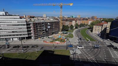 Ideen: Der neue Platz am Ende der Kapellenstraße soll nach Vorstellungen der FDP mit historischen Bezügen gestaltet werden. Im Rathaus findet man das schwierig.