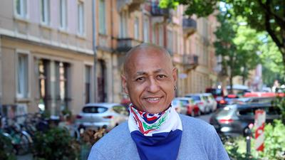 Neustart im eigenen zuhause: Ceferino Polanco-Burgos hat von der Wohnraumakquise profitiert und lebt jetzt in der Südweststadt.