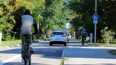 Radweg Erzberger Straße