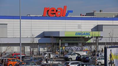Der Real-Markt in Karlsruhe-Bulach.