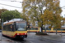 Streik-Folgen bei der AVG: Weil geplante Wartungsarbeiten verschoben werden mussten, rechnet die Albtal-Verkehrsgesellschaft mit Einschränkungen und vereinzelten Ausfällen bei ihren Stadtbahnen.