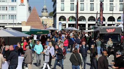 Stadtfest in der Karlsruher Kaiserstraße mit verkaufsoffenem Sonntag 10. Oktober 2021