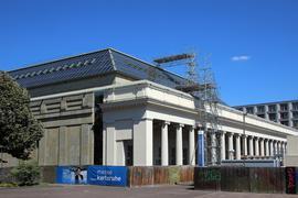 Problemfall: Die Sanierung der Karlsruher Stadthalle kommt seit Jahren nicht richtig voran.